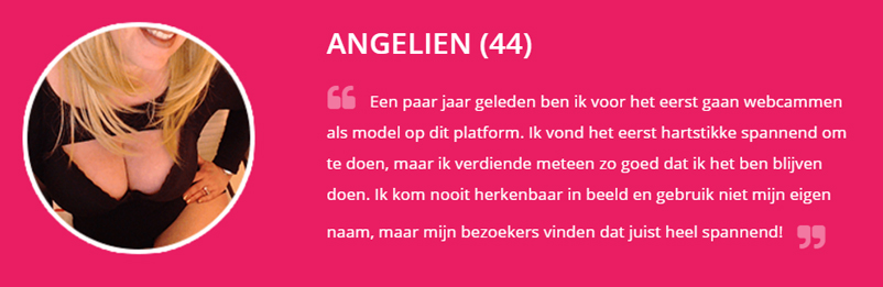 Review van Angelien over erotisch thuiswerk
